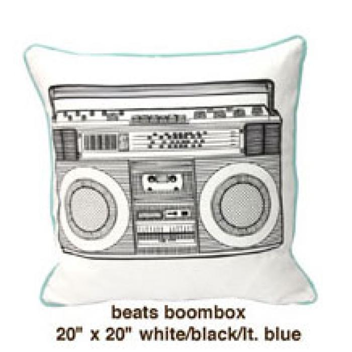 Beats Boombox White / Black / Lt. Blue