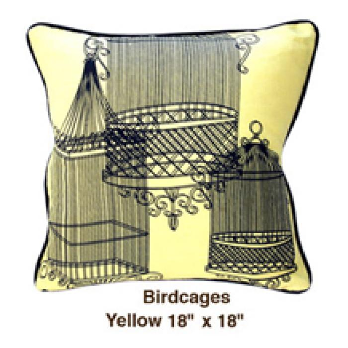 Birdcages Yellow