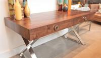 Boca Desk in Walnut