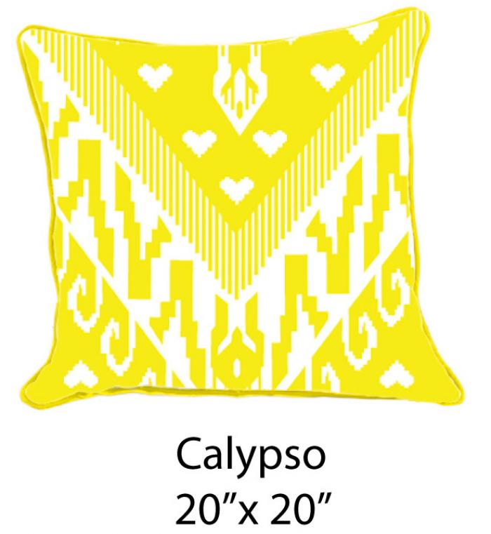 Calypso White/Yellow