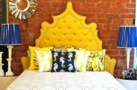 Yellow Casablanca Bed