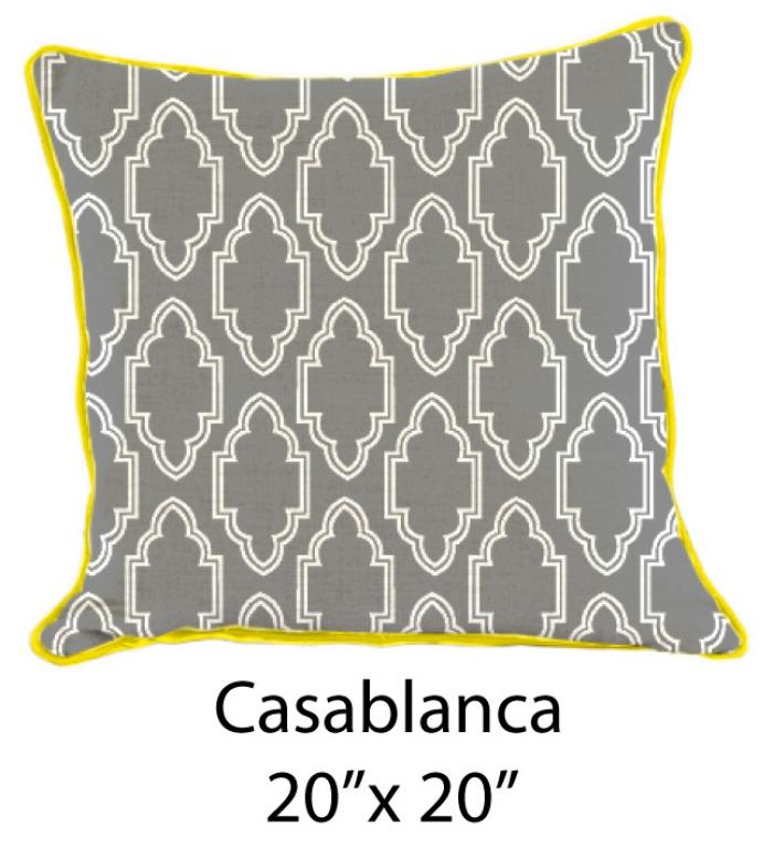 Casablanca Gray/White/Yellow