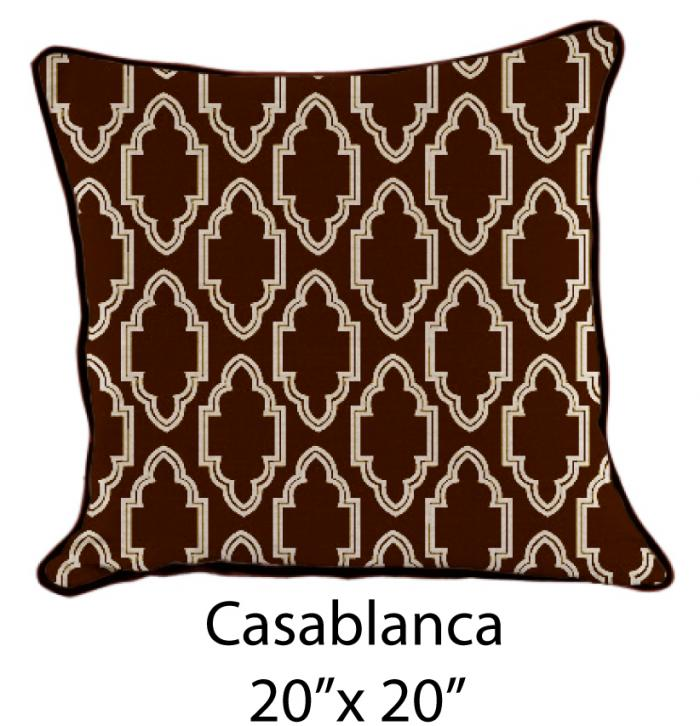 Casablanca Oatmeal/Brown