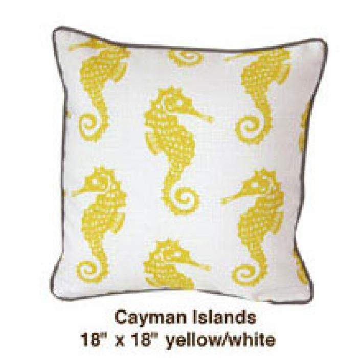 Cayman Islands Yellow / White