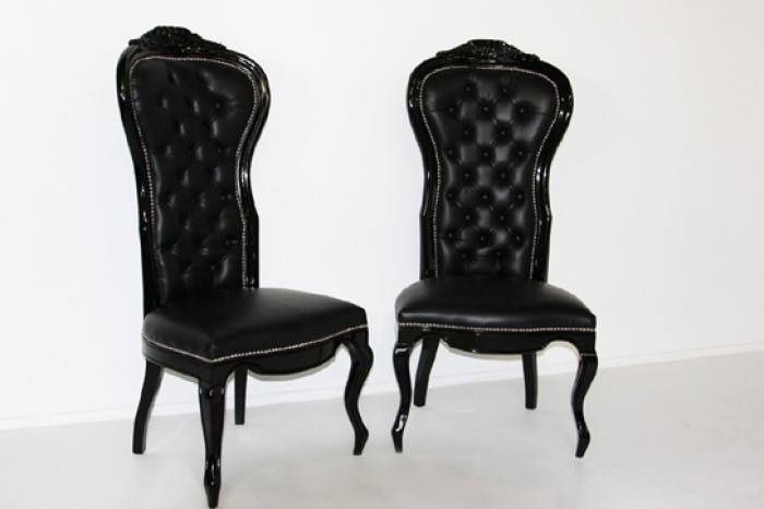 black riviera chair