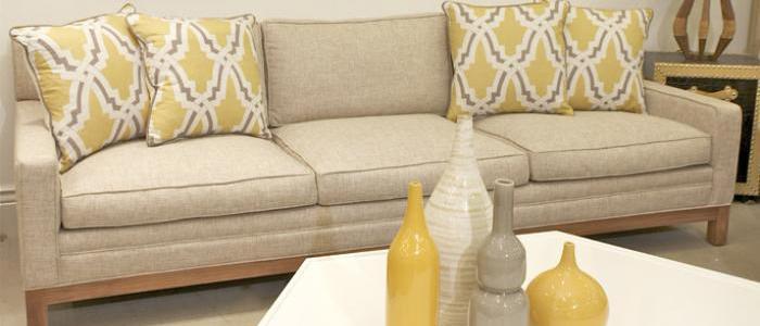 Captivating Chamberlain Sofa In Tan Fabric