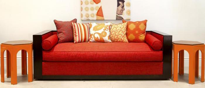 Cody sofa in Red