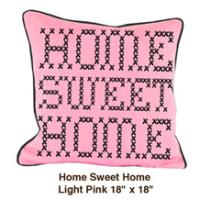 Home Sweet Home Light Pink