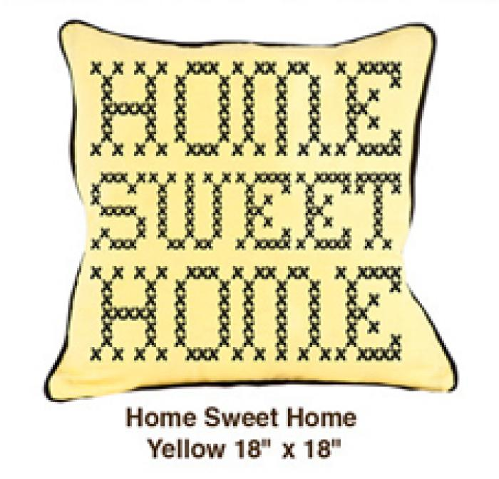 Home Sweet Home Yellow