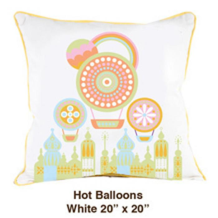 Hot Balloons White
