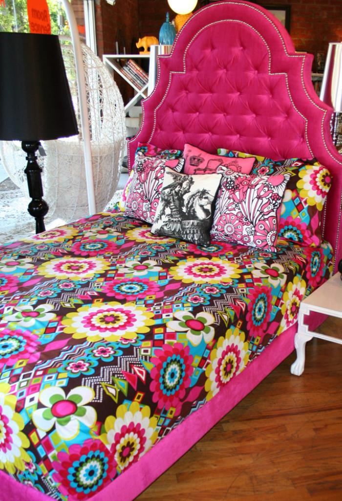 Www Roomservicestore Com Hot Pink Velvet Marrakesh Bed