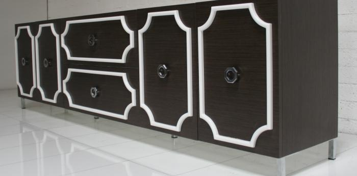 Hollywood Credenza in Grey Oak
