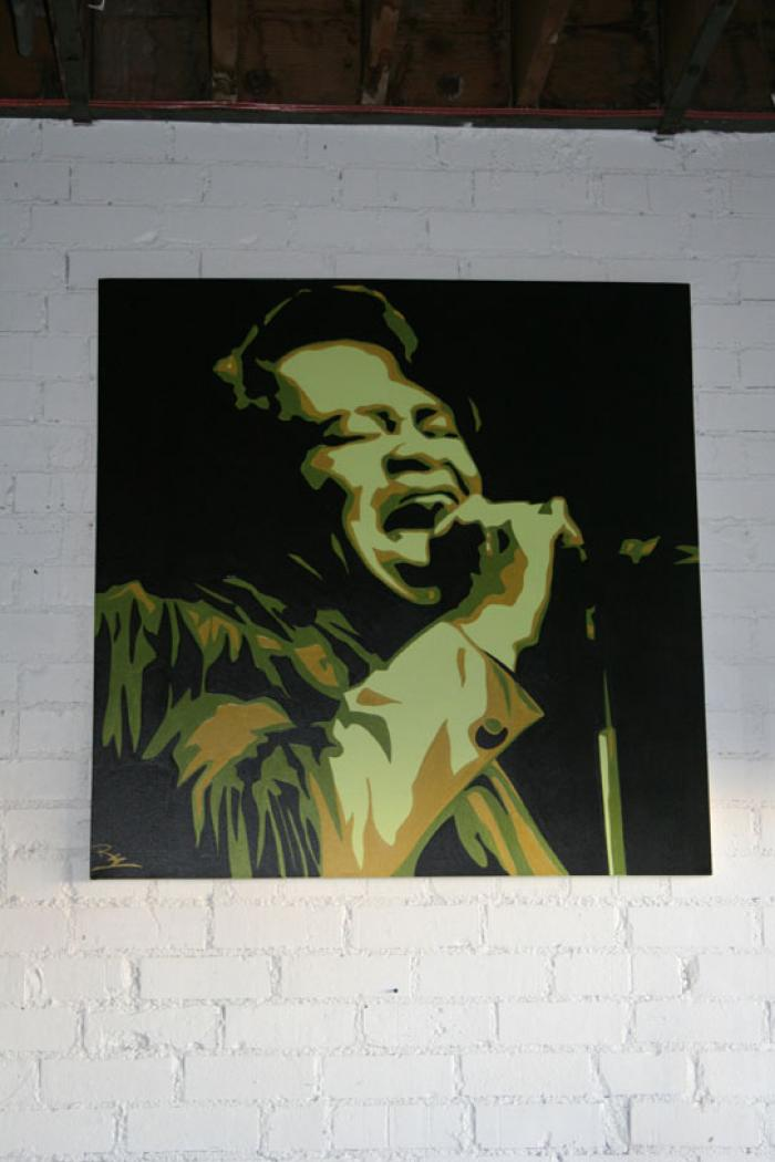 James Brown Original Artwork
