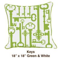 Keys Green / White