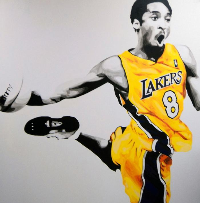 Kobe Bryant # 1 Artwork