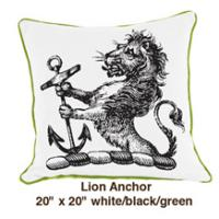 Lion Anchor White / Black / Green