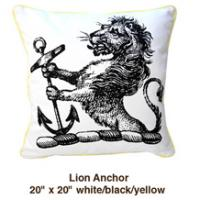 Lion Anchor White / Black / Yellow