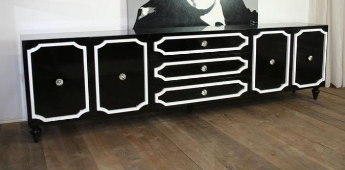 Long and Low Hollywood Credenza