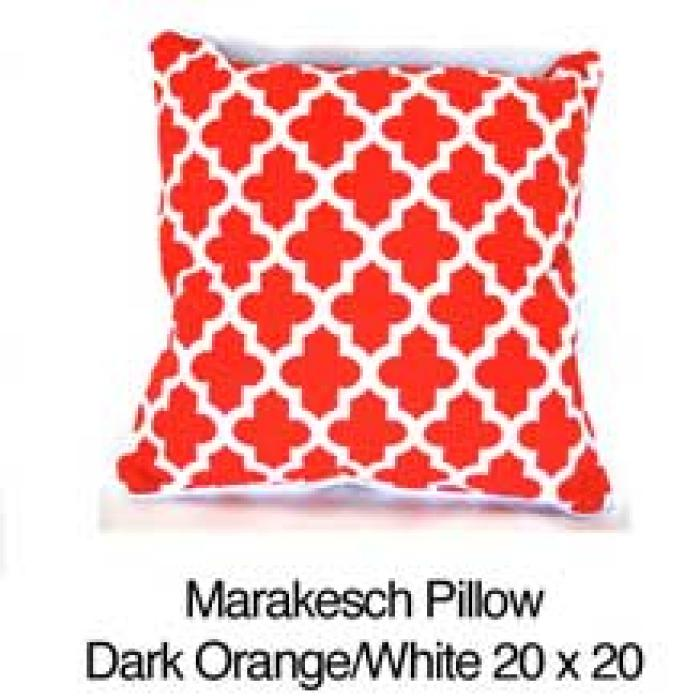 Marakesch Orange / White