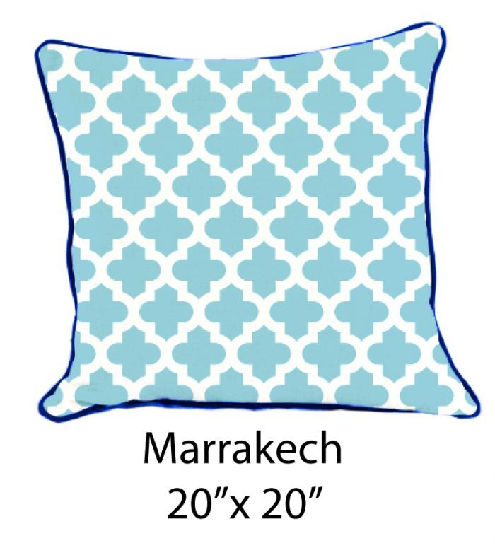 Marrakech White/Lt. Blue/Navy