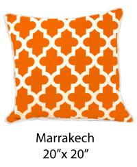 Marrakech White/Orange