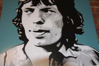 Mick Jagger Original Artwork
