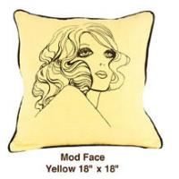 Mod Face Yellow