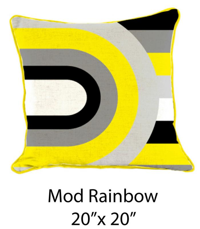 Mod Rainbow White/Yellow/Black/Gray
