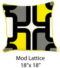 Mod Lattice Yellow/White/Blck/Gray