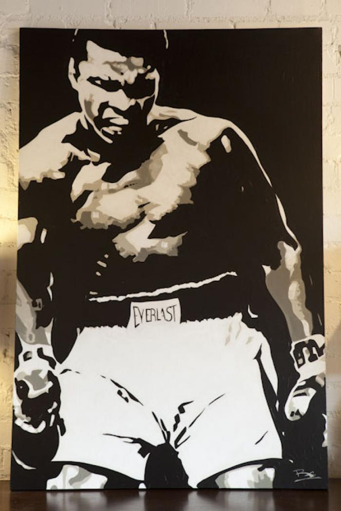 Mohammed Ali Artwork