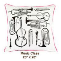 Music Class White / Black / Pink