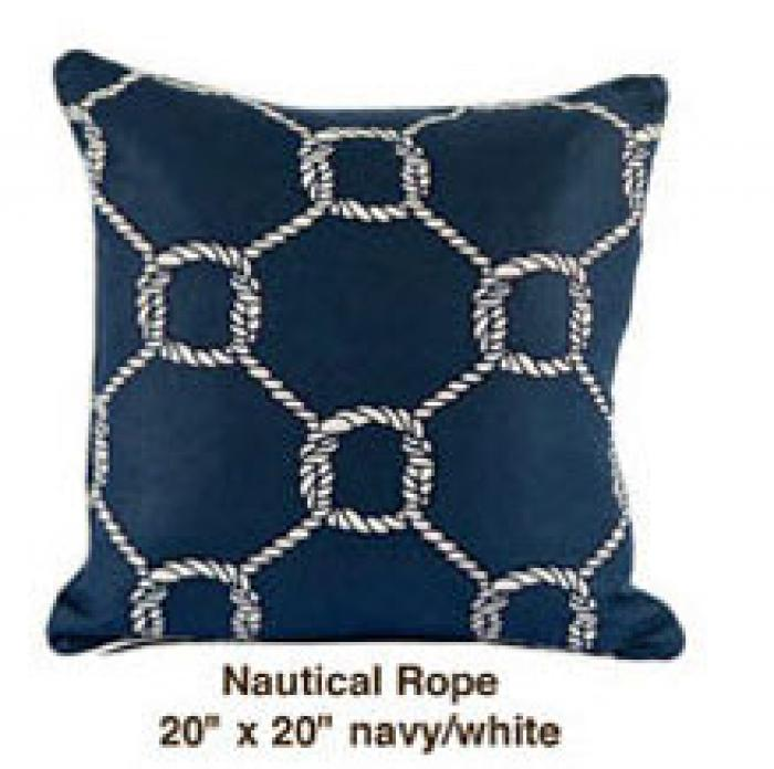Nautical Rope Navy / White