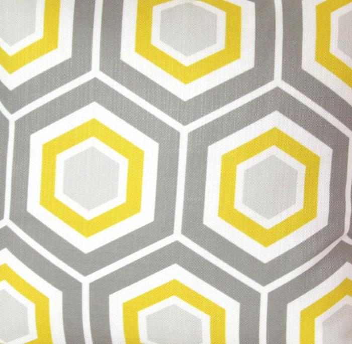 modern grey and yellow wallpaper