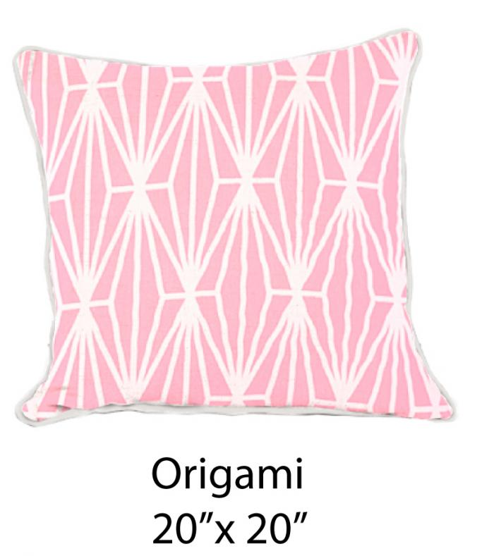 Origami White/Pink