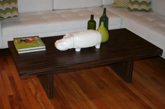 Plinth Macascar Coffee Table