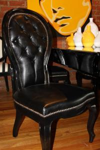 Riviera Dining Chair in Black