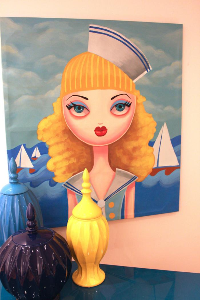 Sailor Girl Original Artwork