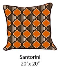 Santorini Oatmeal/Brown/Orange