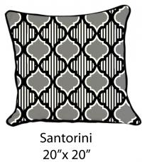 Santorini Black/Gray/White
