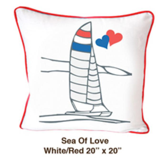 Sea of Love White / Red