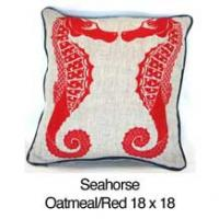 Seahorse Oatmeal / Red