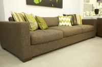 Shoreclub Sofa in Textured Hazel Fabric