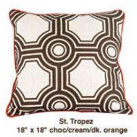 St Tropez Choc / Cream / Dark Orange