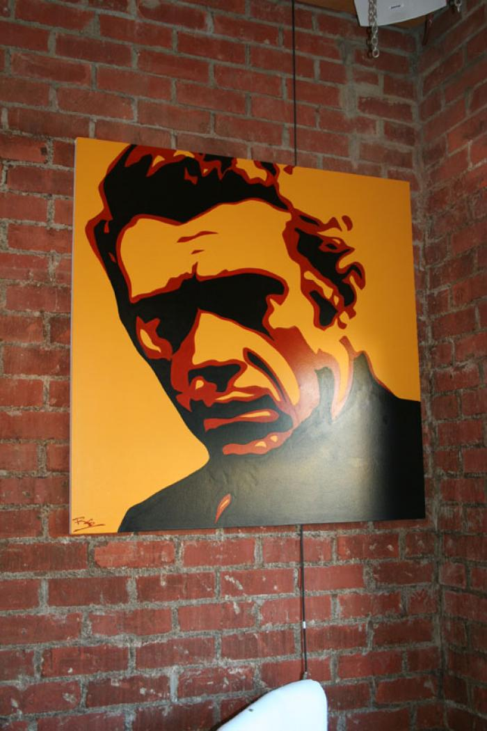 Steve McQueen Original Artwork # 2