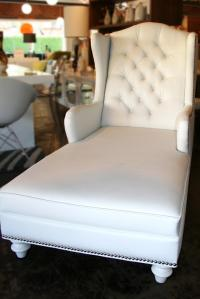 The Bel Air Wingchair in White