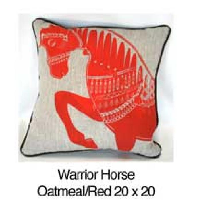 Warrior Horse Oatmeal / Red