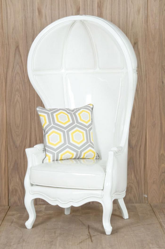 White Balloon Chair