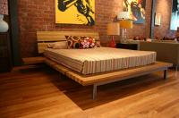 Zebrawood Side-Kick Bed