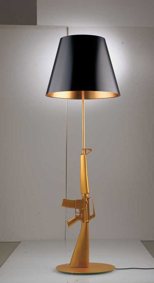Room Service AK47 Stand-Up Lamp