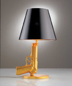 Room Service Pistol Table Lamp